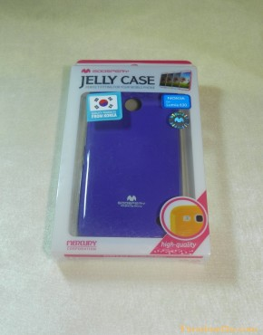 Lumia 630 Soft Case Jelly (สีม่วง)