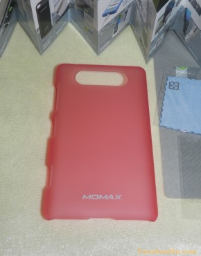Lumia 820 Hard Case Momax (สีชมพู)