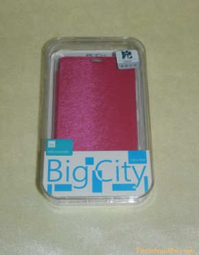 Lumia 820 Diary Case Rock (สีชมพู)