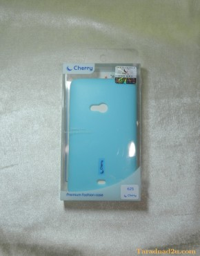 Lumia 625 Soft Case Cherry (สีฟ้า)